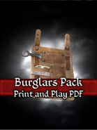 Burglars Pack PnP Cards