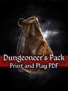 Dungeoneer's Pack PnP Cards