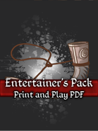 Entertainers Pack PnP Cards