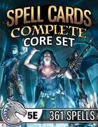 Spell Cards (5E) - Complete Core Set