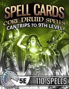 Spell Cards (5E) - Core Druid Set