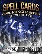 Spell Cards (5E) - Core Ranger Set