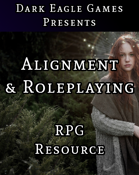 Alignments & Role-playing