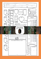 One Door Dungeons 5th Edition Character Sheet