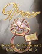 Glimmer: Jewelry & Ornament Stock Art, Vol. 2