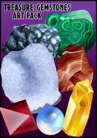 Treasure: Gemstone Art Pack