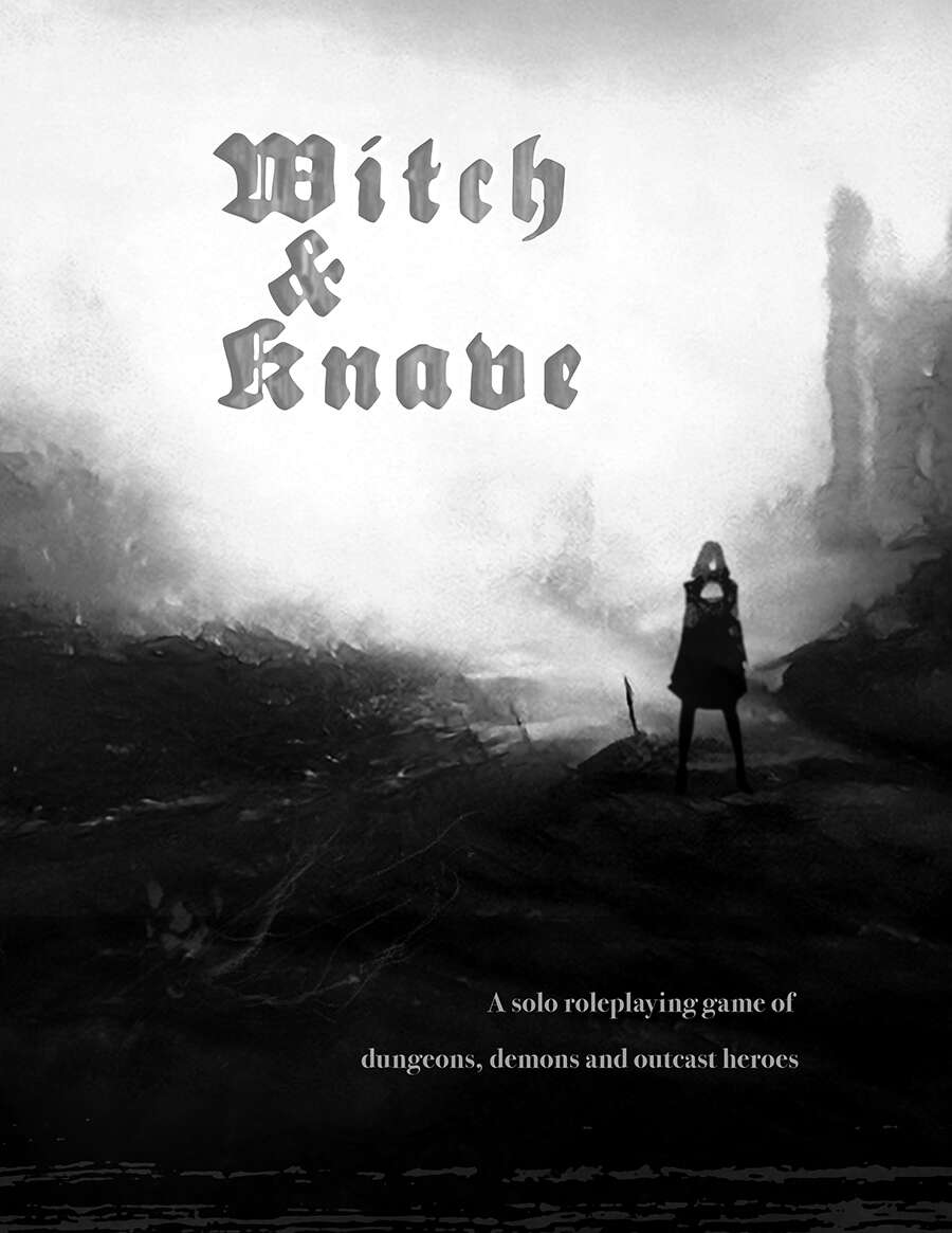 Cover of Witch & Knave