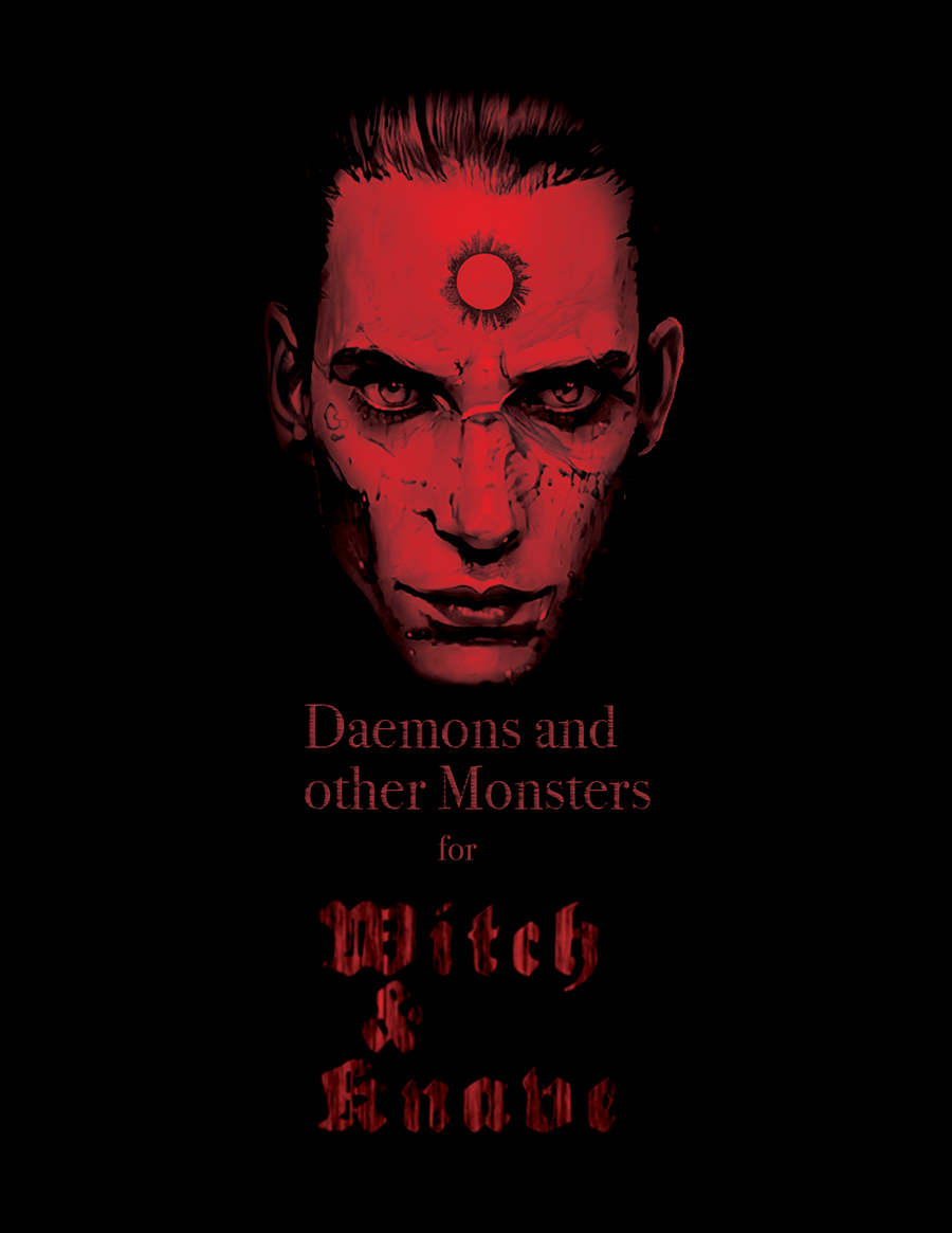 Cover for Witch & Knave: Daemons and other Monsters