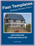 Fast Templates Fantasy Human Town