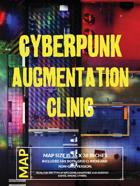 Cyberpunk Augmentation Clinic - Battlemap for RPG and Minis