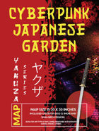 Cyberpunk Japanese Gardens Map