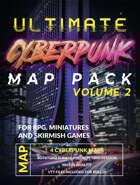 Ultimate Cyberpunk Map Pack Volume 2 - Docks, Train Station, Prison [BUNDLE]