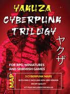Cyberpunk Yakuza Map Trilogy [BUNDLE]