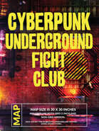 Cyberpunk Underground Fight Club