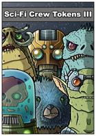Sci-Fi Crew Tokens III