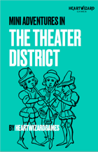 Theater District Map/NPC Pack