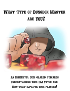 What type of Dungeon Master are YOU? Quiz