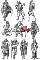 RPG characters: Pack9