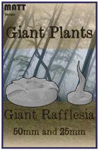 Giant Plant: Giant Rafflesia and vines