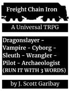 Freight Chain Iron Core Rulebook
