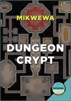 Dungeon Crypt Battlemaps