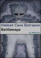 Helmet Cave Entrance Battlemaps