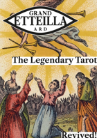 Grand Etteilla Art Restoration Deck Tarot Cards