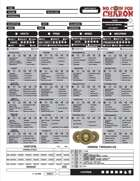 No Coin for Charon Character Sheet