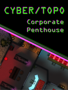 Cyberpunk Corporate Penthouse