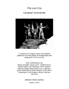 The Lost City: Campaign Sourcebook