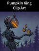 Pumpkin King Clip Art