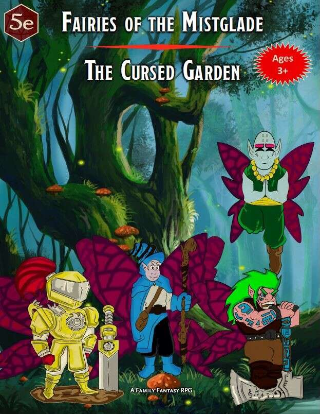 Fairies of the Mistglade - The Cursed Garden
