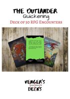 The Outlander Quickening Deck of RPG Encounters