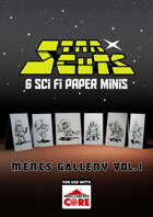 StarCuts: Mercs Gallery Vol. 1