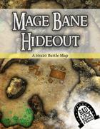 Mage Bane Hideout - 30x20 Battlemap