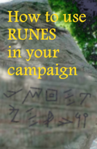 How to use runes in your campaign