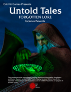 Forgotten Lore: An Untold Tales book
