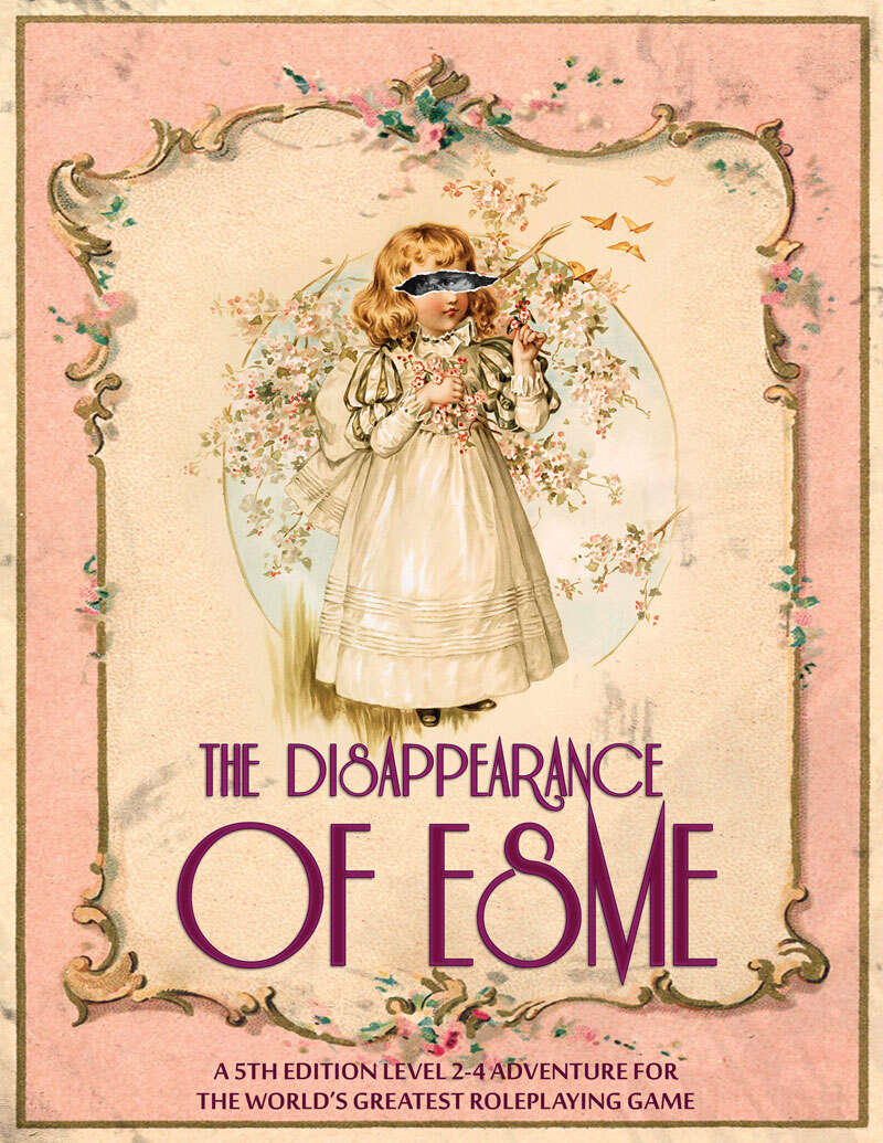 Cover of The Disappearance of Esme