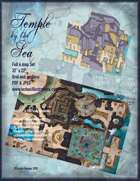 Temple by the Sea  Battle Map Four map set