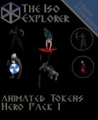 Animated Battle Tokens : Hero Pack 1