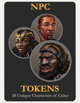 NPC Tokens / Characters of Color