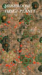Mushroom/Fungi Planet