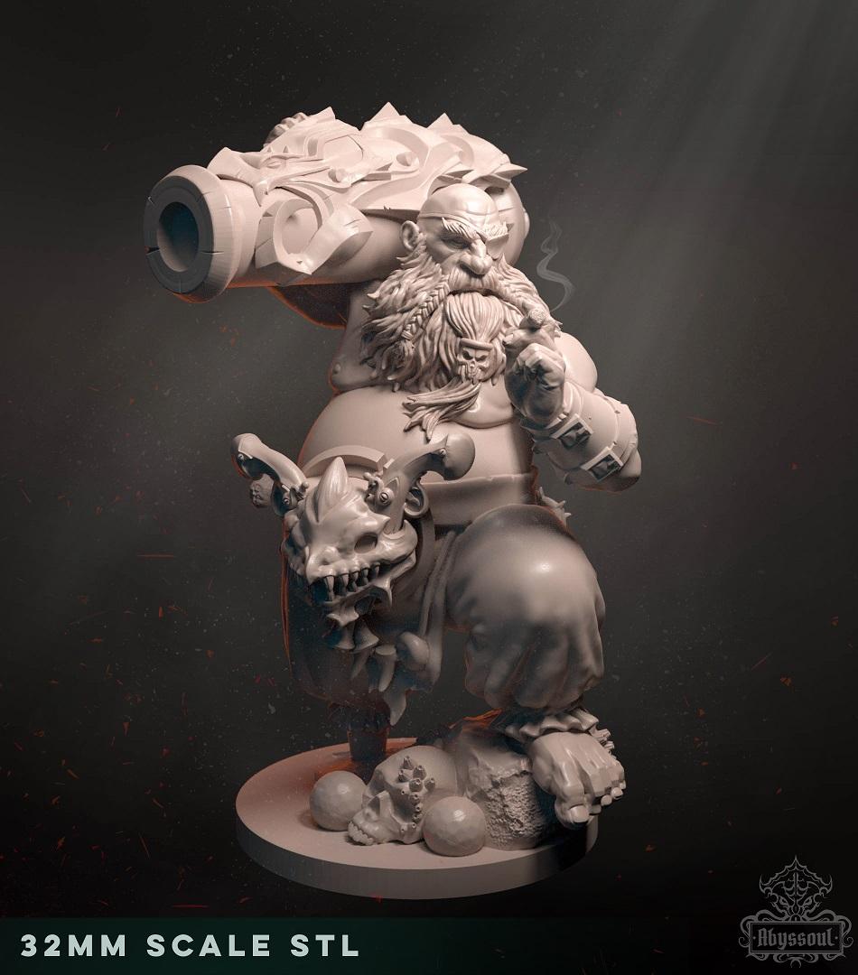 Faenir, the dwarf