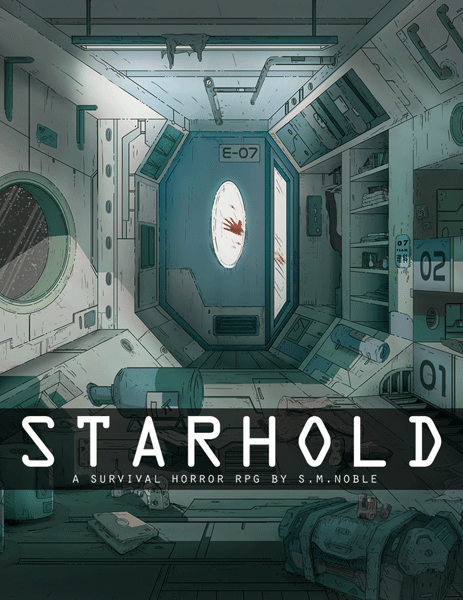 Starhold: a Space-Themed Survival Horror TTRPG