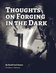 Thoughts on Forging in the Dark