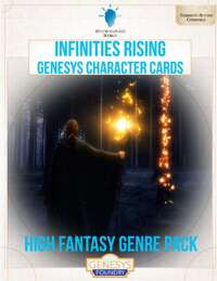 Infinities Rising - Genesys Character Cards - High Fantasy 1
