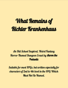 What Remains Of Richter Krankenhaus
