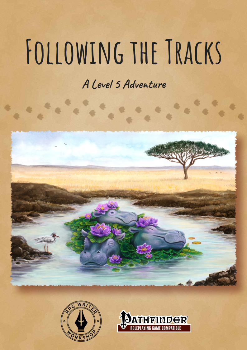 Cover of Following the Tracks