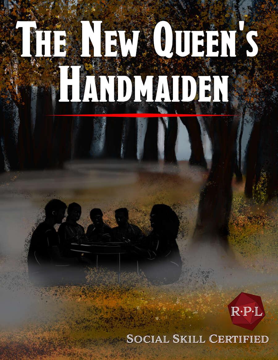 The New Queen's Handmaiden cover