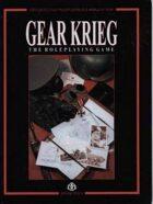 Gear Krieg RPG 1st Edition
